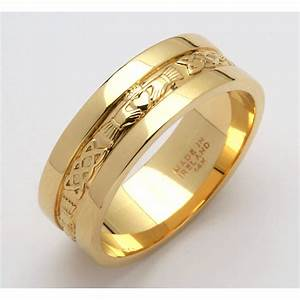 Perfect Men Gold Rings For The Engagement Functions ...