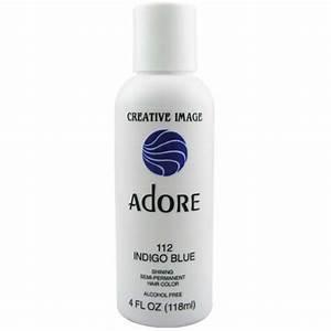 Adore Semi Permanent Hair Color 112 Indigo Blue 4oz