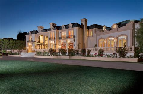 $72 Million 28,000 Square Foot French Chateau Mega Mansion
