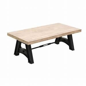 Table Basse Transparente Alinea Le Bois Chez Vous