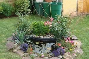 Bassin En Plastique : un petit bassin pr form en plastique ~ Premium-room.com Idées de Décoration