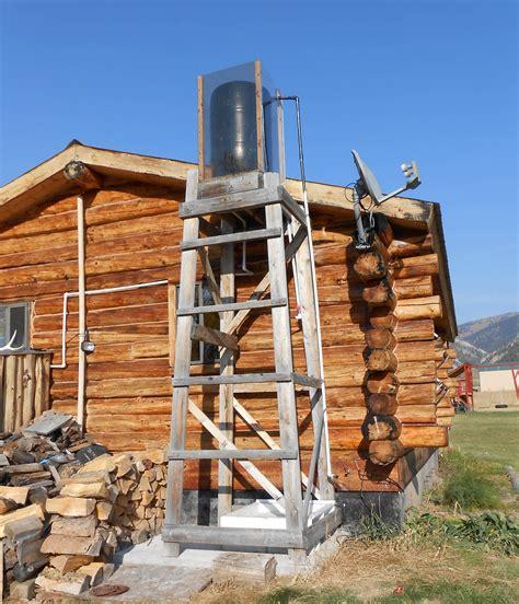 Solar Shower - the problems of building a solar shower preparedness