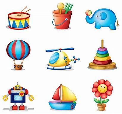 Toys Different Vector Nine Kinds Clipart Vecteezy