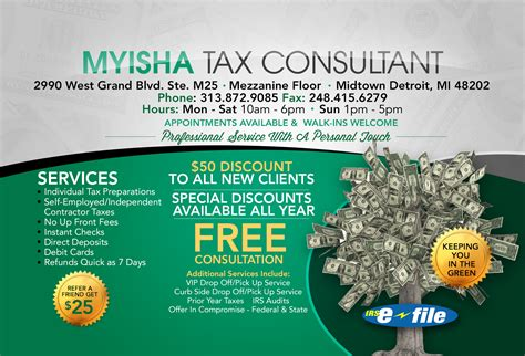 tax consultant business card choice image business card