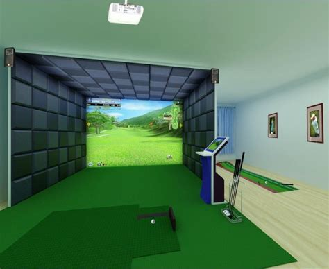 38 Best Images About Golf Simulator On Pinterest