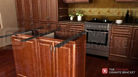Kitchen Island Countertop Support Bracket Double Sided Island
