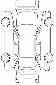Blank Car Diagram For Job Prep