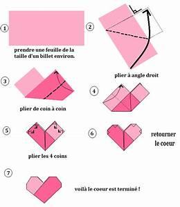 Comment Faire Des Origami : coeur origami best fond de concept valentin avec cadre en ~ Nature-et-papiers.com Idées de Décoration