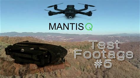 yuneec mantis  footage test  youtube