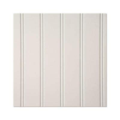 Wainscoting Wall Panels Home Depot by Eucatile 3 16 In X 32 In X 48 In White True Bead