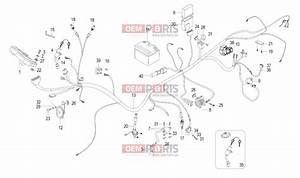 Malaguti X3m 125 Enduro 08-t U00f3l Electrical Parts