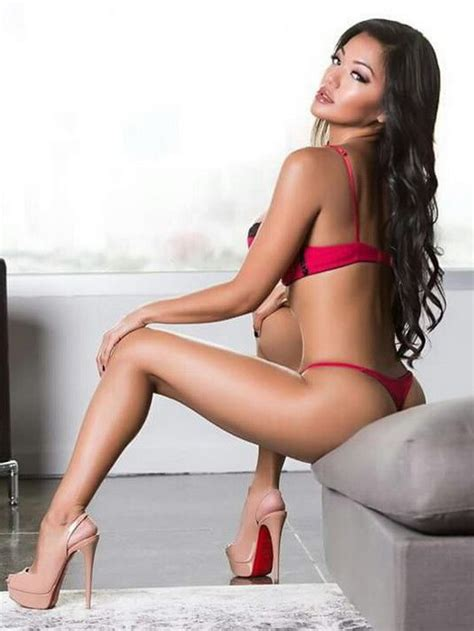 Sexy Filipina Babe Wearing A Gstring Panty And High Heels
