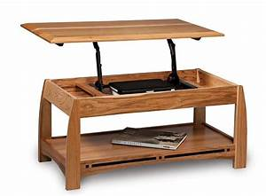 Amish Boulder Creek Open Lift Top Coffee Table with