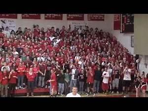 Basketball Crowd Cheer Rivalry Rutland vs. MAU - YouTube