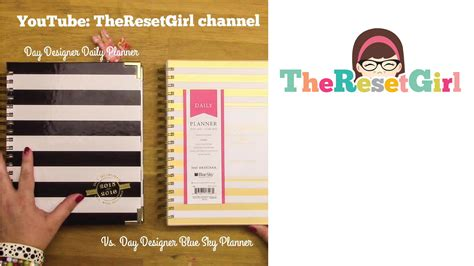 day designer by the day designer daily planner and day designer blue sky