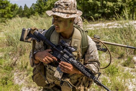 Warlords Train New Marines In Scout Sniper