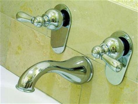 how to replace tub shower faucet bathtub and shower faucet replacement lovetoknow