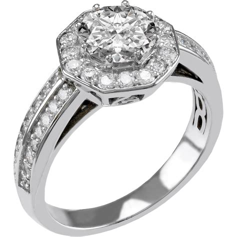 14k gold 1 1 4 ctw engagement ring engagement rings jewelry watches shop the