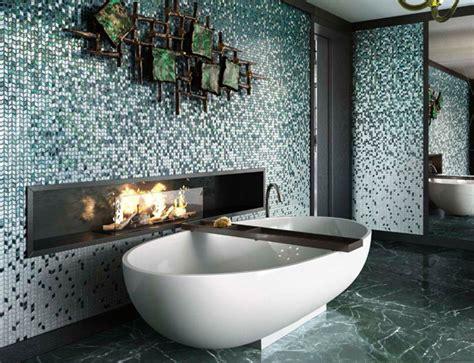 Deco Mosaique Salle De Bain D 233 Corer La Salle De Bains Avec Des Mosa 239 Ques 15 Id 233 Es