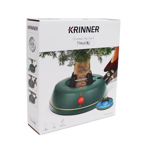 krinner vbasic small foot operated christmas tree stand