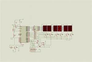 89c51 Digital Clock Circuit