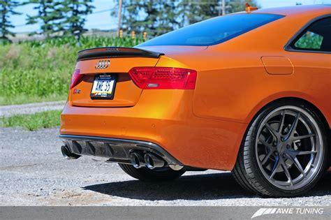eurogear deval   carbon fiber rear diffuser awe tuning