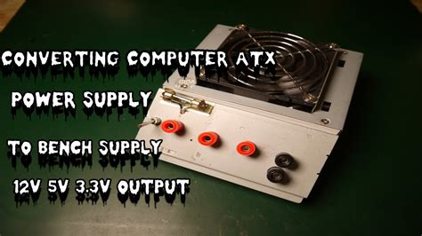 Pc Power Supply To Bench Power Supply by Converting Computer Power Supply To Bench Supply Pt 2