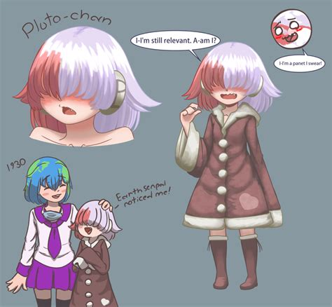 Pluto chan (Earth- chan meme thing) by JoMunNafuda on ...