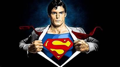 Superman Wallpapers Super Reeve Christopher Cartoon Reeves