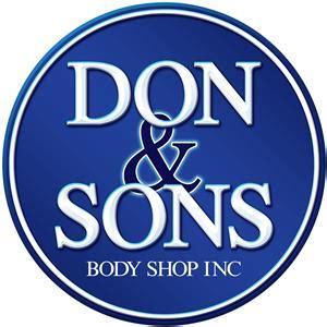 don  sons body shop   ames ia  auto body
