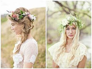 FLOWER CROWNS WEDDING HAIR INSPIRATION Passion For Flowers