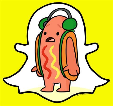 Snapchat Hotdog Meme Fanart Dancing Hot Dog Snapchat