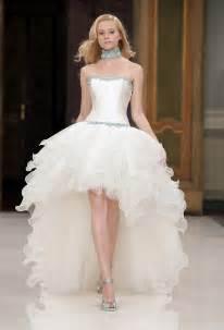 hi low bridesmaid dresses 2016 wedding dresses and trends high low wedding dresses