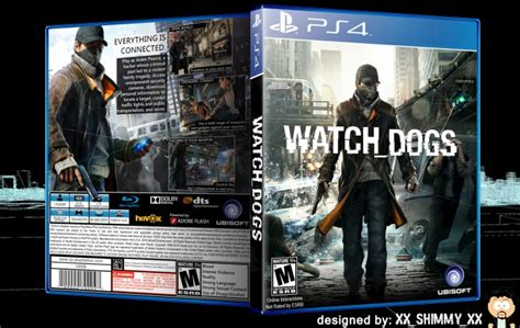 Watch Dogs Playstation 4 Box Art Cover By Xxshimmyxx