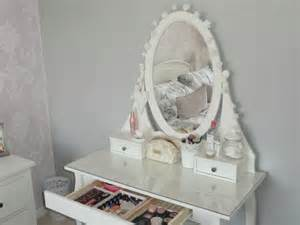 my ikea hemnes dressing table make up storage by