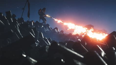 wallpaper flamethrower flame trooper battlefield