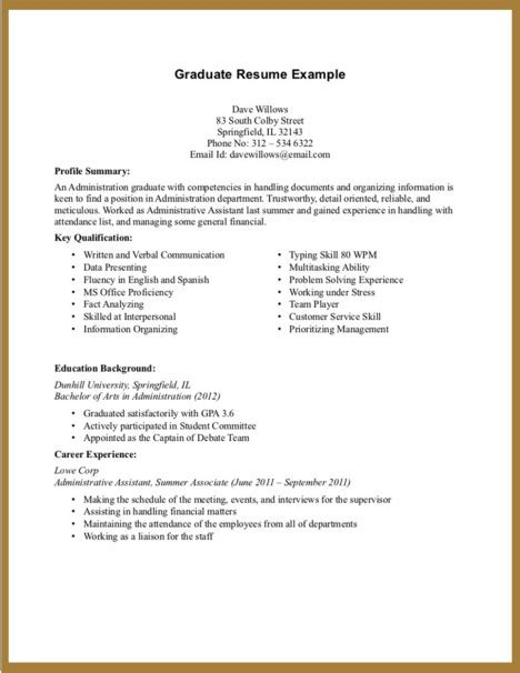 good resume for part time job search entry level resume no experience latest resume format
