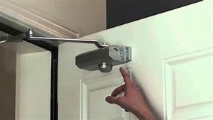 Ryobi Doorman Instructions  U0026 A Backcheck Feature Set And
