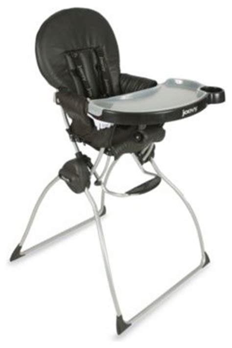 Joovy High Chair by Joovy Nook High Chair In Black Leatherette Contemporary