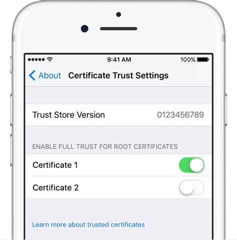 how to install profile on iphone certificate trust settings ios cloud middleman