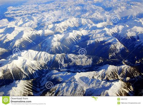 Winter Rocky Mountains Stock Photography - Image: 4964722