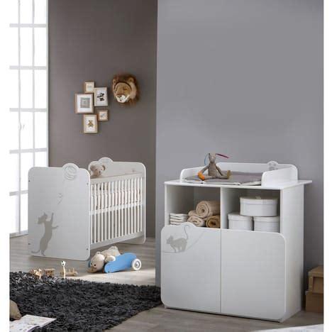 promo chambre bebe pack promo ensemble lit bébé commode à langer katy pas cher à prix auchan