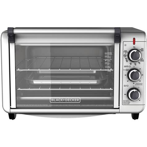 6 Slice Toaster Oven On Sale by Black Decker 6 Slice Convection Countertop Toaster Oven