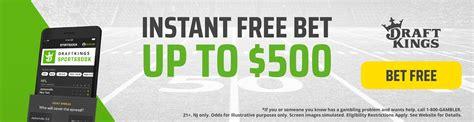 code promo king vert draftkings sportsbook bonus free 500 promo code 100 verified