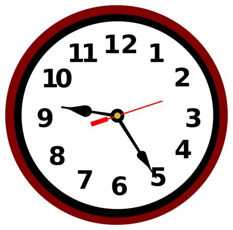 Clipart Time by Clipart School Clock Clipground
