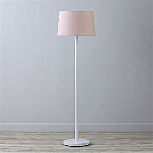 kids floor lamps the land of nod With light pink floor lamp shade