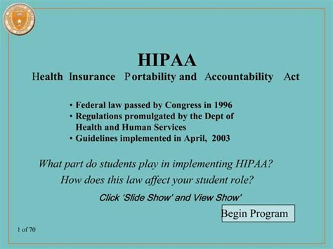 Adopting a uniform set of medical codes is intended to simplify the process of submitting claims electronically. PPT - HIPAA Health Insurance Portability and Accountability Act PowerPoint Presentation - ID:225009