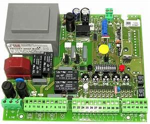 Carte Electronique Portail : carte electronique moteur portail coulissant ~ Melissatoandfro.com Idées de Décoration