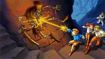 Mummy Animated Series Lost Quest Scrolls Tv