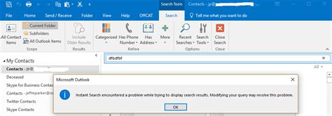 Office 365 Outlook Search by Office 365 For Business And Outlook 2016 Instant Search